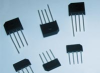 Molded Plastic Over Passivated Junction Rectifier -- GBU410