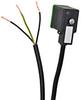 SOLENOID CBL 11mm DIN 110V LED 5m (16.4ft) 3-WIRE PIGTAIL PVC -- SC11-LS110-5R