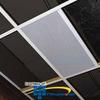 Valcom Lay-In 2' x 1' Talkback Ceiling Speaker -- V-9060