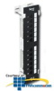 ICC 12-Port CAT 6 Component Rated Vertical Patch Panel -- ICMPP12V6C