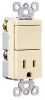 Combination Switch/Receptacle -- TM818-LACC -- View Larger Image