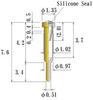 Small Size Socket Pin -- N0010-GG-SL -Image
