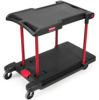 Rubbermaid 4300 Convertible Utility Cart -- RM-4300BLA