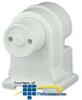 Leviton Medium Bi-Pin Fluorescent Pedestal Lampholder.. -- 13570-NW