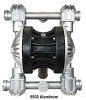 Air Operated Diaphragm Pump -- Model B502 Metal - Image