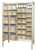 Bins & Systems - Clear Tip Out Bins (QTB Series) - Free Standing Sliders - QS-BIG-101