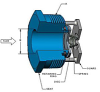 DFT® Vacuum Breaker Threaded In-Line Check Valves