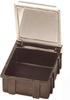 Hinged SMD Conductive Storage Box -- SM0882 - Image