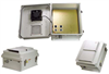 14x12x7 Inch Weatherproof Enclosure with PoE Interface and Solid State Fan Controller -- NB141207-40FS -Image