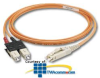 Panduit® LC to Pigtail Multimode Simplex Pigtail -- F6B10