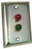 Entry-Guard? Interlock Dual Status Light on Single Gang Cover -- ETG-ILR2