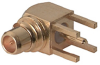 RF Coaxial Board Mount Connector -- 84MMCX-50-0-1/1 -Image