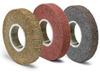 3M Scotch-Brite FP-CB Convolute Aluminum Oxide Medium Deburring Wheel - Medium Grade - Arbor Attachment - 6 in Diameter - 3 in Center Hole - Thickness 36 in - 14508 -- 048011-14508 - Image