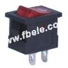 Miniature Rocker Switch -- MRS-101-2 ON-OFF - Image