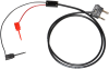 Stacking Double Banana Plug Test Cable RG58C/U to XK Double Gripper Mini-Hooks -- 1050XK -Image