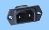 IEC 60320 C18 Screw-Mount Inlet -- 83030310 -Image