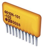 BOURNS - 4610X-R2R-103LF - RESISTOR, ISO RES N/W, 5, 10KOHM, 2%, SIP -- 817090