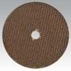 Dynabrade Alumina Zirconia Cutoff Wheel - Type 1 (Straight) - 3 in Diameter - 3/8 in Center Hole - 79356 -- 616026-79356 - Image