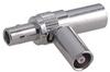 Coaxial T-adaptor, 1 Plug, 2 Jacks, Asymmetric -- Type 45_QLA-01-0-1/112_NE - 22640033