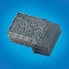Backplane Connectors, 1.85 mm (0.073 in.), Orientation=Right Angle -- 10091844-101LF - Image