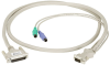 35FT KVM CPU Cable DB25 VGA PS2 Coax With Audio -- EHN382A-0035 - Image