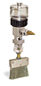 (Formerly B1745-1X10), Manual Chain Lubricator, 1 oz Polycarbonate Reservoir, Flat Brush Stainless Steel -- B1745-001B1SF1W -- View Larger Image