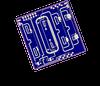 6 - 18 GHz 6-Bit Digital Phase Shifter (-Vc) -- TGP2107 -Image
