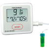 Digi-Sense Calibrated Sentry Triple Display Thermometer, Fahrenheit, 5 mL bottle -- GO-94460-96