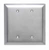Blank Plates -- Box Mounted, Two Gang -- SSO23 - Image