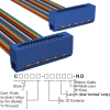 Rectangular Cable Assemblies -- C3EES-2618M-ND -Image
