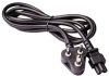 6ft South Africa and India 3 pin plug to IEC C5 Power Cord -- P-8114-06B