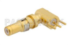 D-Sub Plug Right Angle Contact Solder Attachment Thru Hole PCB, .200 inch x .046 inch Hole Spacing -- PE4835 -Image