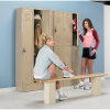 2-Tier Lockers with Vanguard Handle -- 7802893
