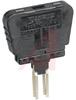 Fuse; 300 V (Nom.); 300 V (CSA); 10 A (Nom.); 20 mm; 5 mm; 26.5 mm; Black -- 70169117