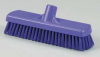 Deck Broom,Stiff,3 x 12 In,Purple -- 18G886