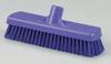 Deck Broom,Stiff,3 x 12 In,Purple -- 18G886