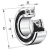 3300/5300 Standard Angular Contact Ball Bearings -- 3412