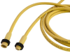 Mini-Link Cable Assembly, PVC, Male/Female, 2 pole, 12', 16 AWG -- 102G0120AP - Image