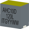 0.22uH, 15%, 0.185mOhm, 56Amp Max. SMD Power bead -- AHC10D-220L -Image