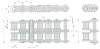 Standard Roller Chains -- RC05B-2 -- View Larger Image