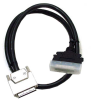 6ft 0.8 mm/HPDB50 Male VHDCI 0.8mm SCSI Cable -- H813-06 - Image