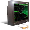 Sunlight Readable, Standalone / Mountable, LCD Monitor Designed for Air Traffic Control Towers and Navigation -- GenStar II™