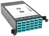 100Gb/120Gb to 10Gb Breakout Cassette - 24-Fiber OM4 MTP/MPO ( Male with Pins ) to (x12) LC -- N482-1M24-LC12