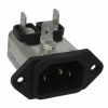 Power Entry Connectors - Inlets, Outlets, Modules - Filtered -- 3EEA2-ND