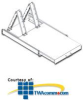 Southwest Data Products Single Tower Roll-Out Shelf -- SWE704-ST