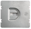 Protection Plate, Flat, To protect 2 device opening on Caddy MP2S -- 702FD