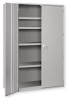 Cabinets - Heavy Duty Storage: 2 Door Center Partition Cabinets -- HDSC-3672-19-8-CP - Image
