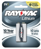R9VL-1, Carded 9V 1-Pack (12 packs/case) -- R9VL-1