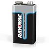A1604 BK210, Alkaline 9-Volt (210 batteries/case) -- A1604 BK210 - Image