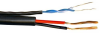 1000ft Balun Wire - Video/Date/Power 1 Pair Black Color -- BALUN-18-2B-1000 - Image